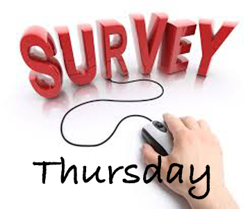 Thursday Survey Graphic