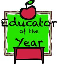 Educator of the Year graphic